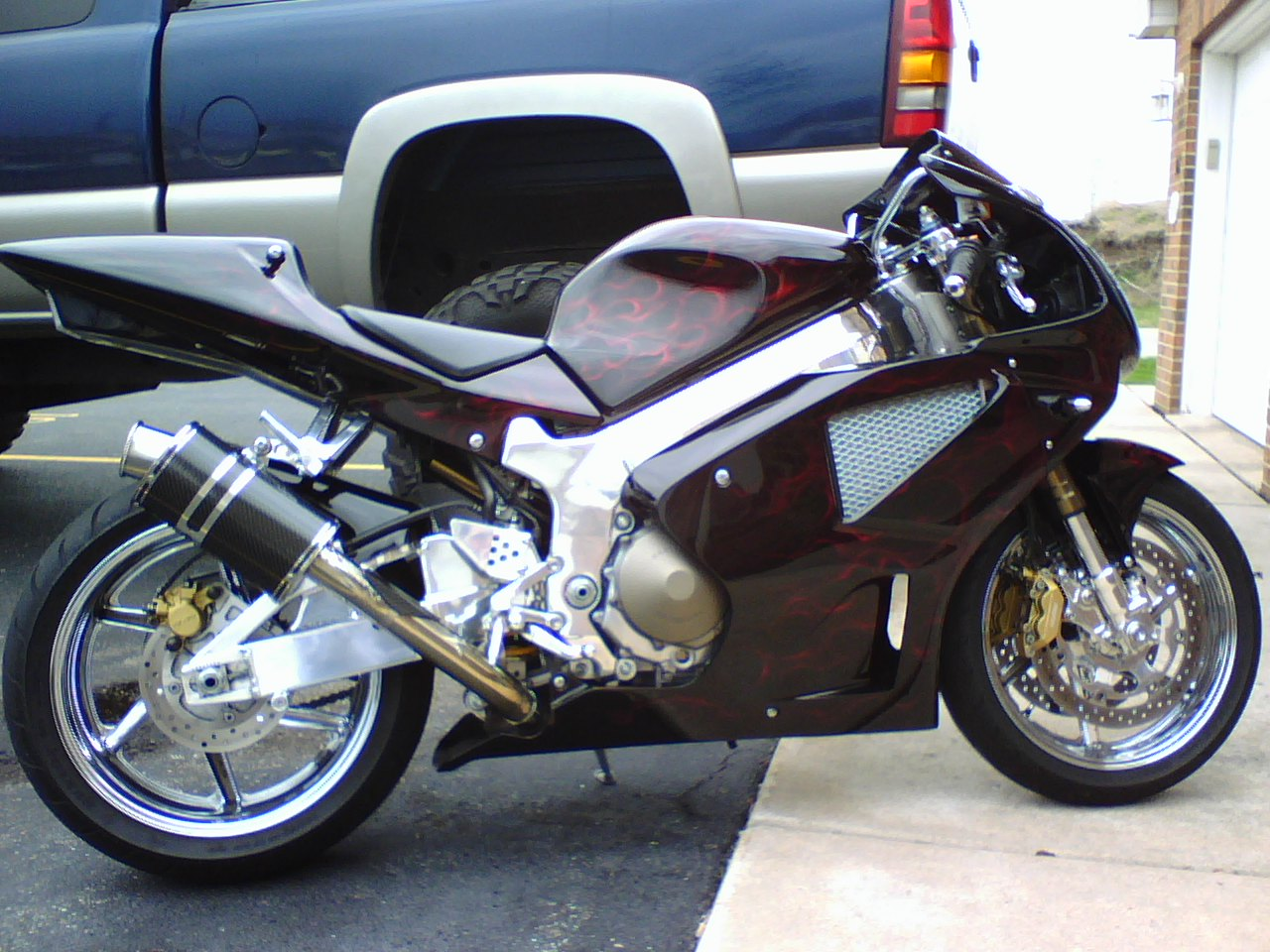 Honda Accord Sport For Sale >> Custom 2000 Honda RC51 For Sale - Sportbikes.net