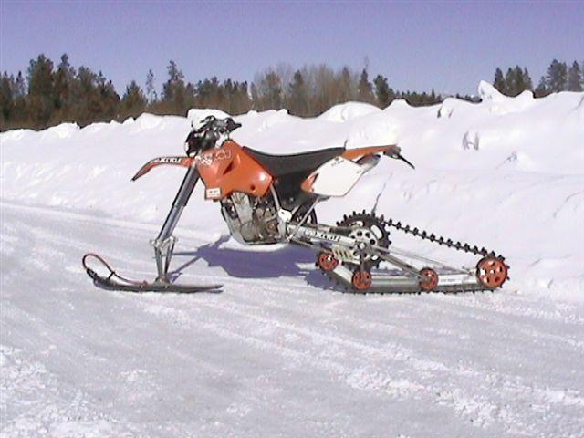 motocross ski