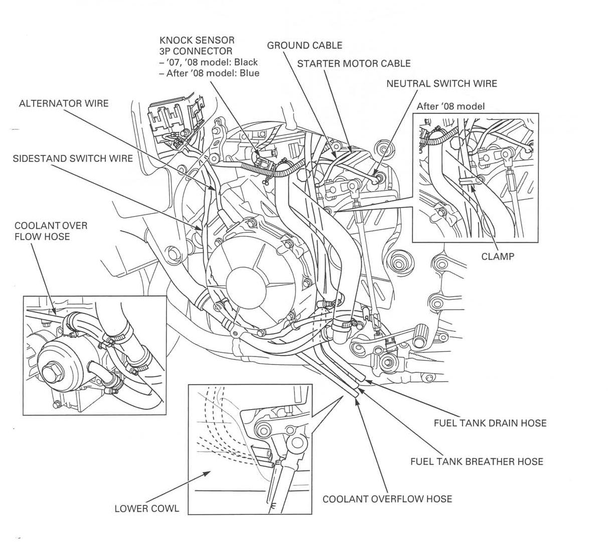 2005 Cbr 600 Rr Color Wiring Diagram