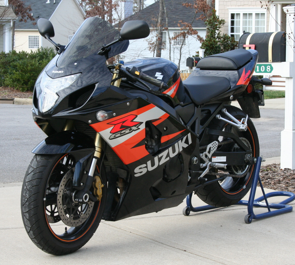 04 GSXR 600 to 750 Swap!!!! Fast and Light !!! NC