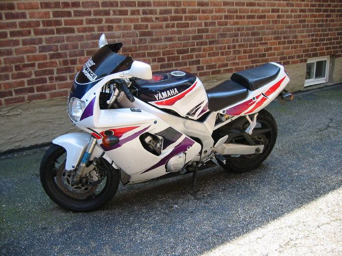 Fs  1996 White  Purple Yzf600r In Ny
