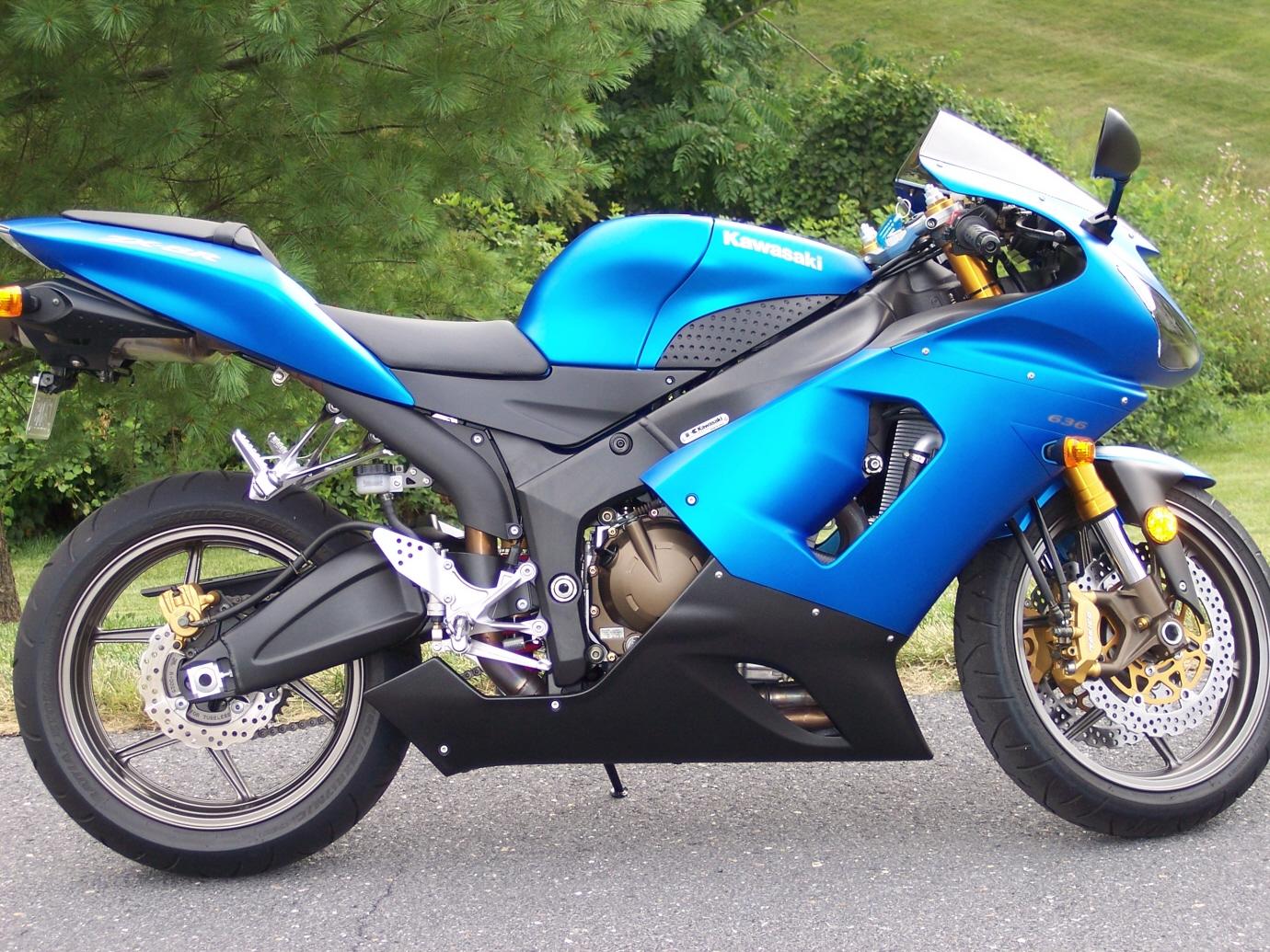 2006 ninja 636 - sportbikes