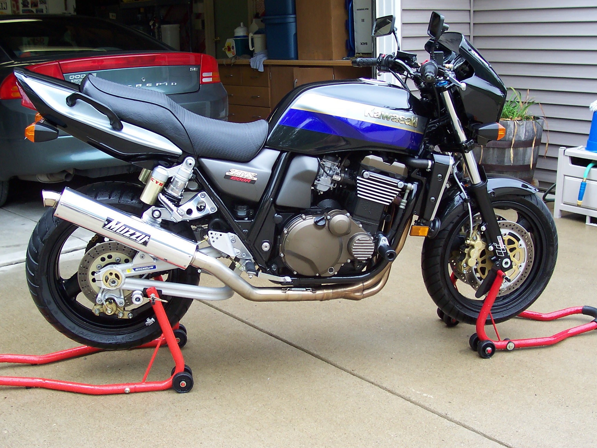 FOR SALE 2001 Kawasaki ZRX 1200R - Sportbikes.net