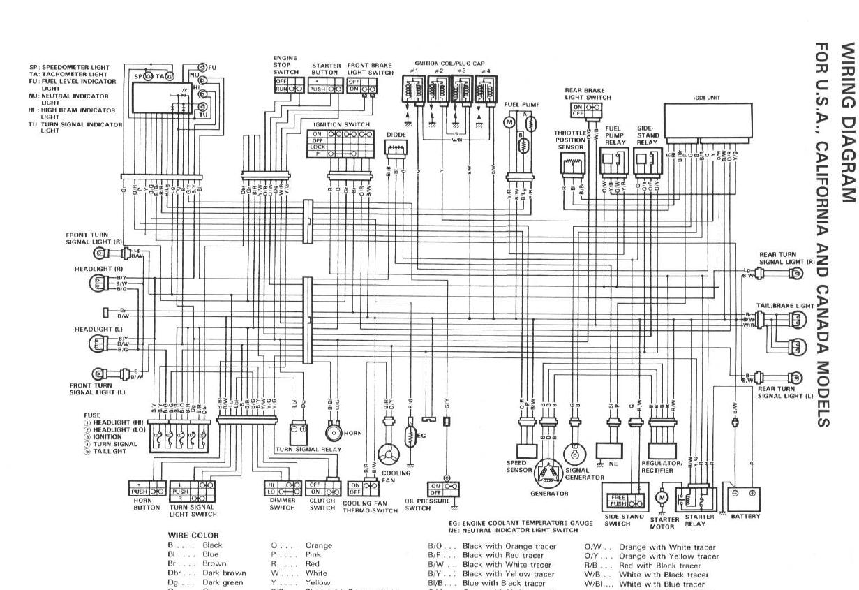 Wiring Diagram On A 2000 Gsxr 600 Simple Guide About Honda Rc51 Which Wire Is Suzuki Gsx R Motorcycle Forums