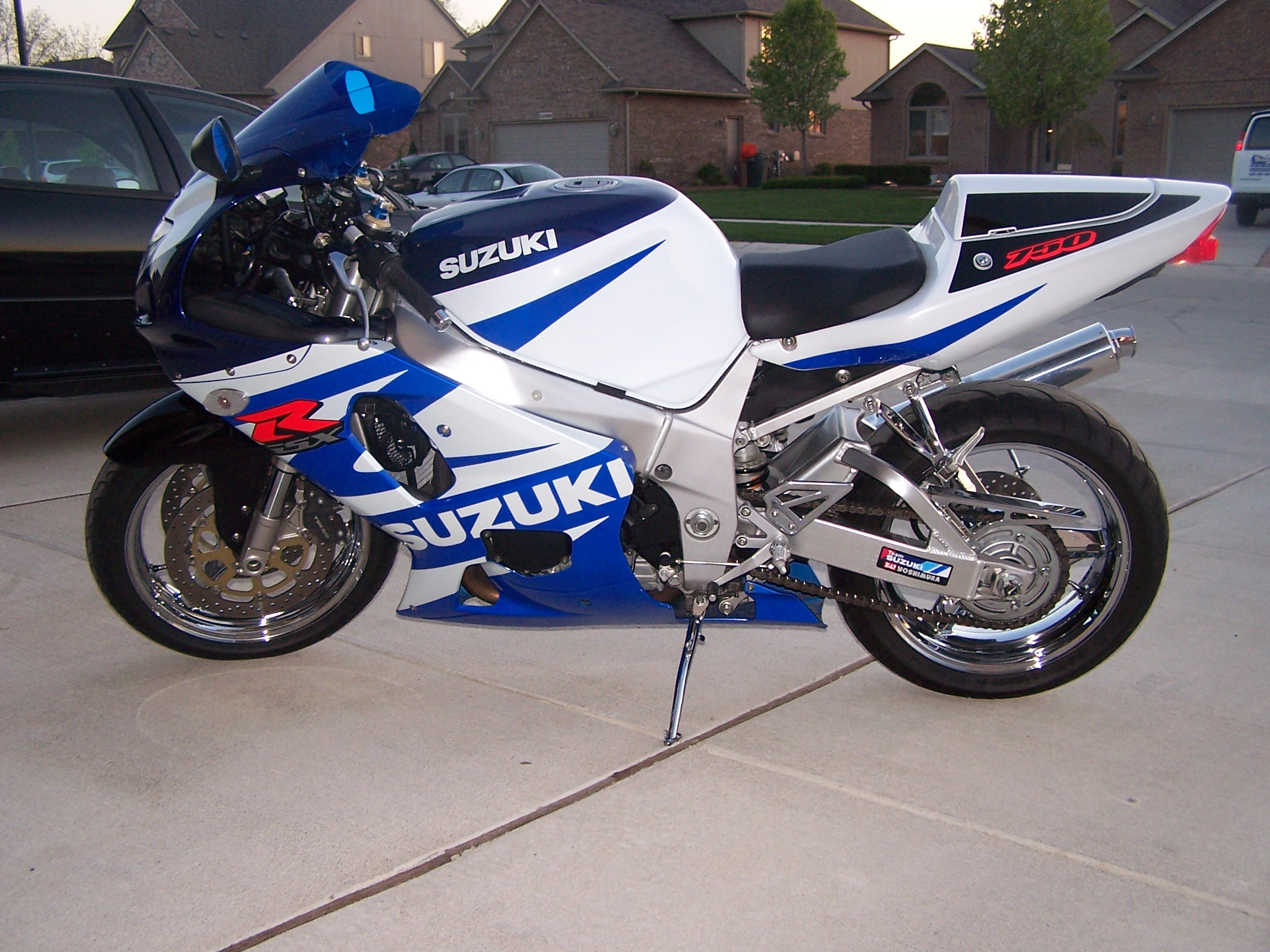 2002 GSXR 750 For Sale or Trade  Chrome - Sportbikes net