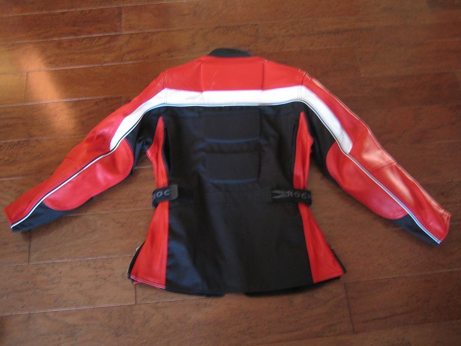 Women's Medium Red and Black Joe Rocket Jacket - CHEAP-3.jpg