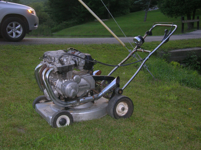 How do i make my lawn mower faster? - Yahoo! Answers