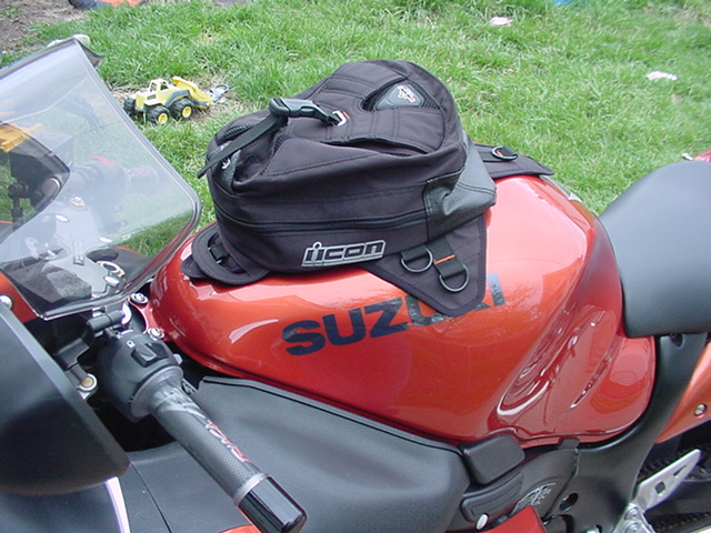 Icon Primer Tank Bag Review Sportbikes