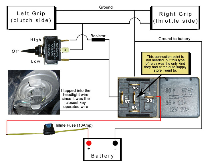 109311d1167799111 heated grip installation 4 under grip heaters [archive] katriders com snowmobile hot grips wiring diagram at honlapkeszites.co