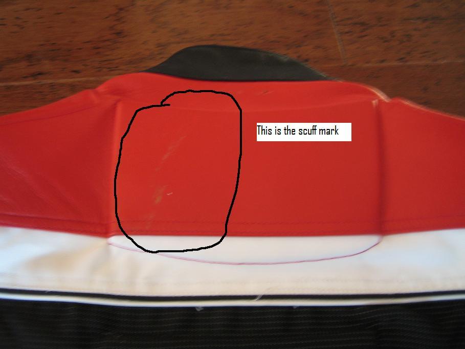 Women's Medium Red and Black Joe Rocket Jacket - CHEAP-4.jpg