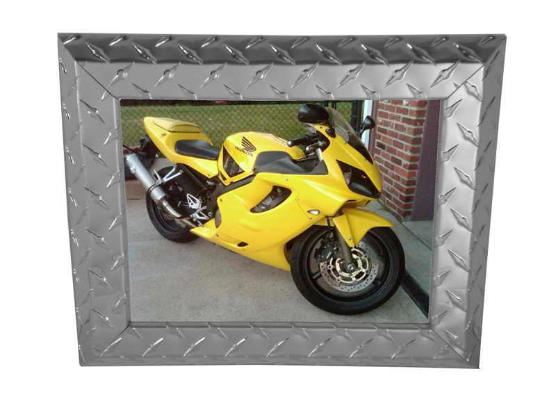 Diamond Plate Picture Frames - Sportbikes.net