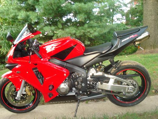 Bikez 2000 Honda Cbr 600 Honda CBR RR Red and