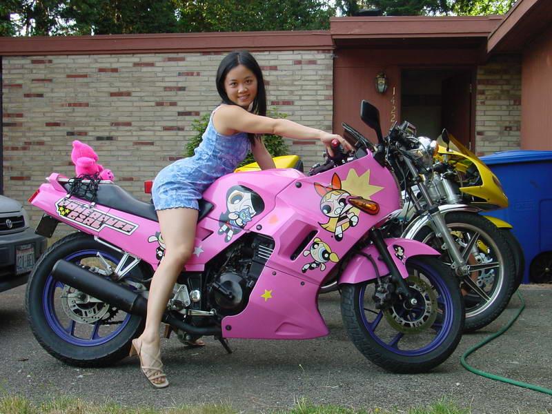 Suzuki Power Wheels Pink
