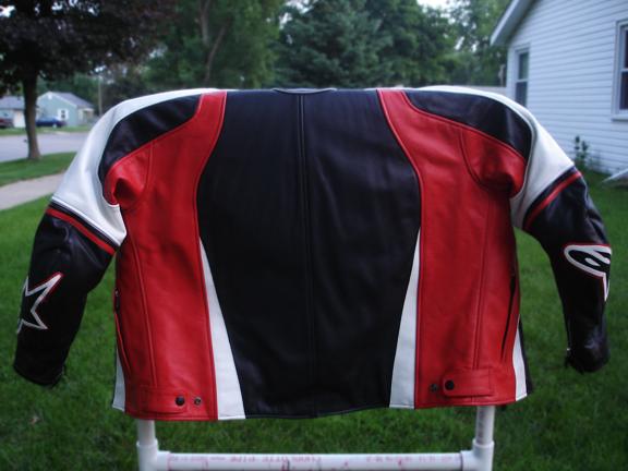 Alpinestars Stunt leather jacket for sale - Sportbikes.net