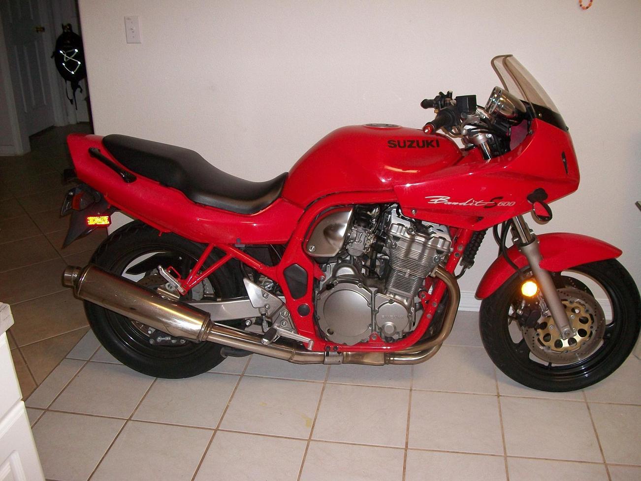 suzuki bandit 600 s - beginner bike? - sportbikes
