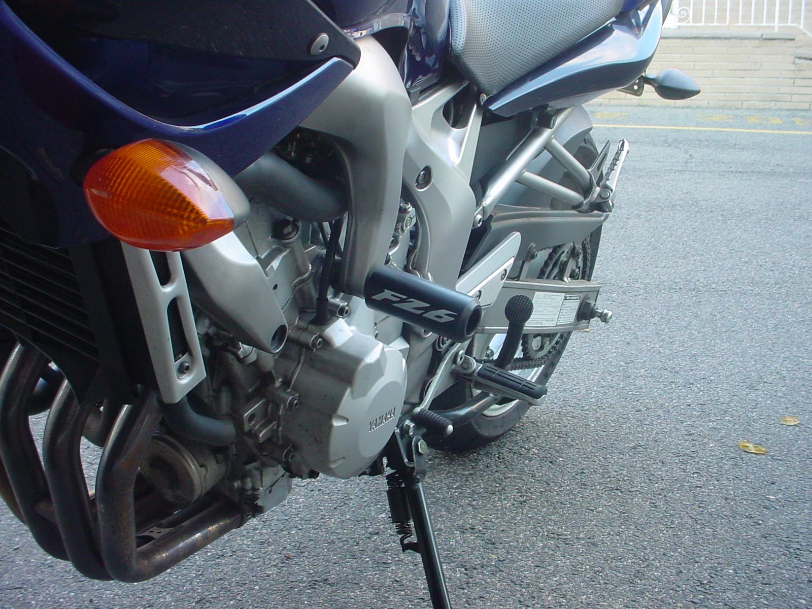 Extended frame sliders - Sportbikes.net