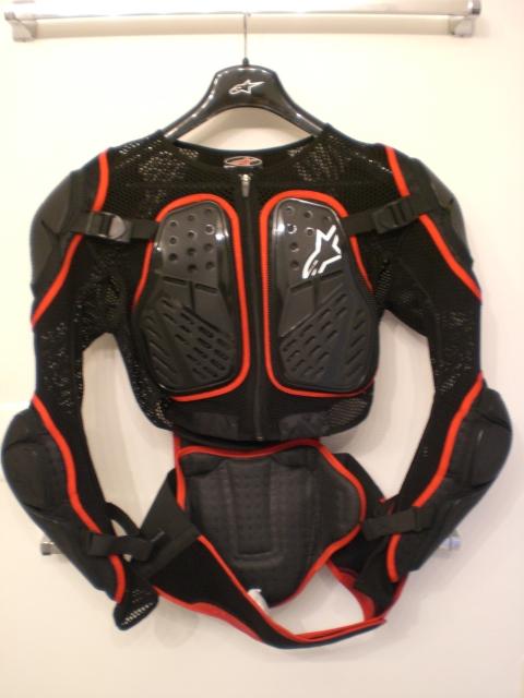 alpinestars bionic 2 protection jacket like new mens xl