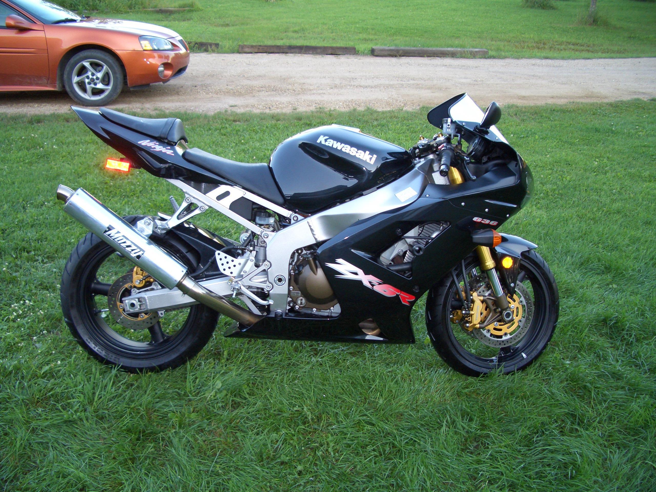 2003 Kawasaki ZX6R 636 - Sportbikes.net