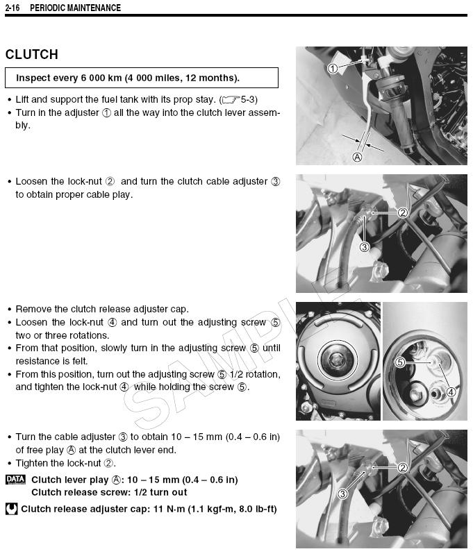 2006 Gsxr 1000 clutch play - Sportbikes net