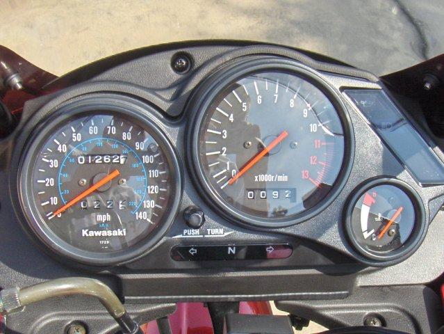 Houston: 06 Kawasaki Ninja 500R (EX500D): Maroon & Black ...