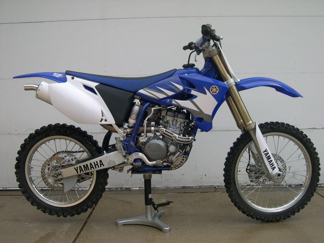 Old Yamaha Dirt Bike