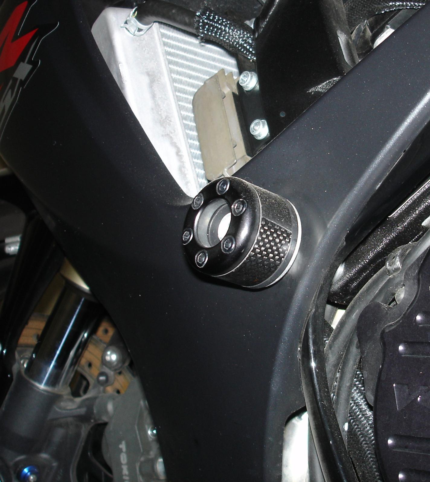 2007 GSXR 750 Vortex Frame Sliders - Sportbikes.net