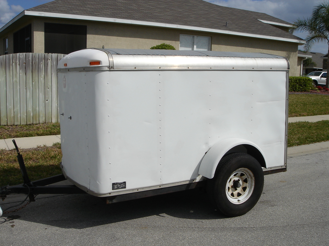 Sportbikes net view single post 5x8 enclosed trailer for sale