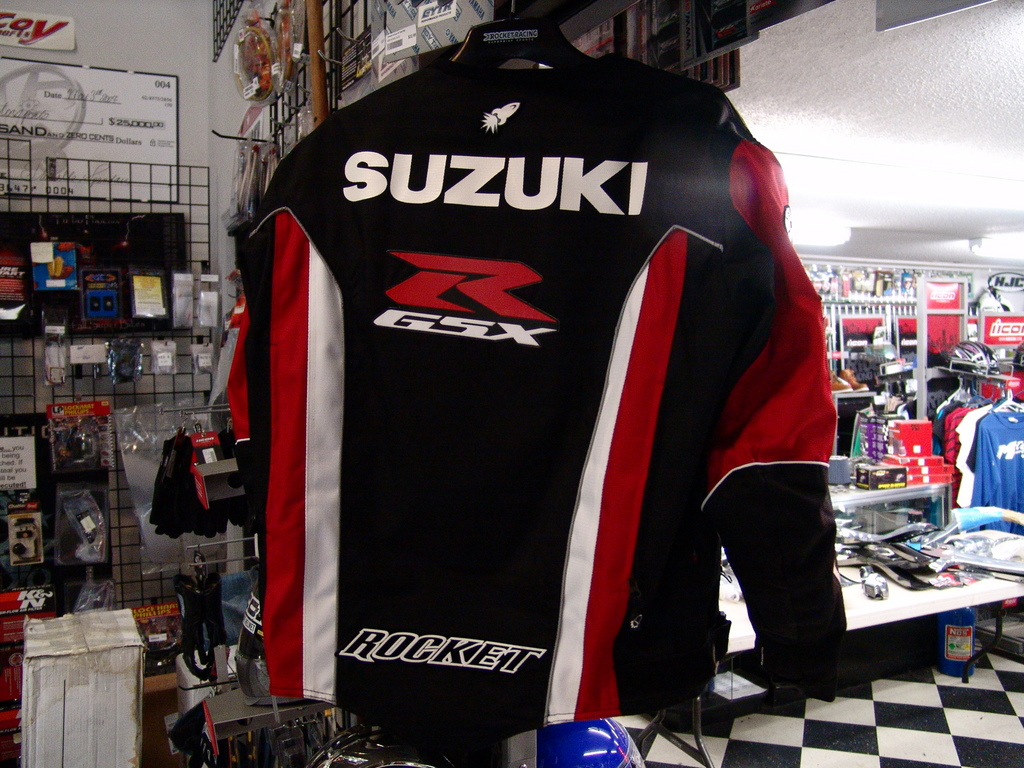 Joe Rocket Suzuki Supersport Replica Jacket