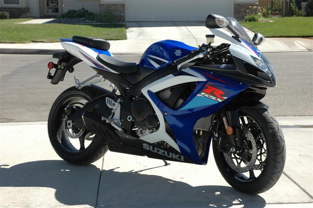 2007 GSXR 750 F/S, SoCal, 1292 mi., $8900 - Sportbikes.net