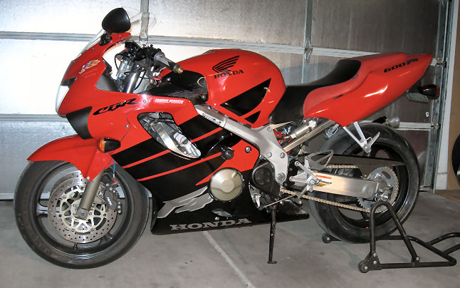 For Sale 1999 Cbr600f4 Sportbikes Net