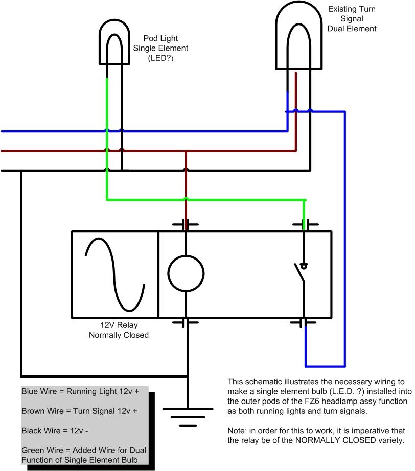 Yamaha Fz6r Flasher Relay Wiring Diagram