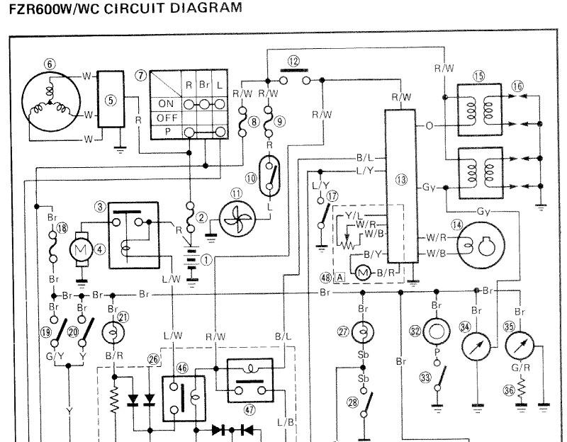 yamaha ysr50 wiring diagram circuit diagram symbols u2022 rh armkandy co Yamaha YSR Performance YSR50 Battery