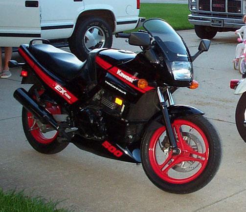 FS: 89 Kawasaki EX500, Michigan - Sportbikes.net