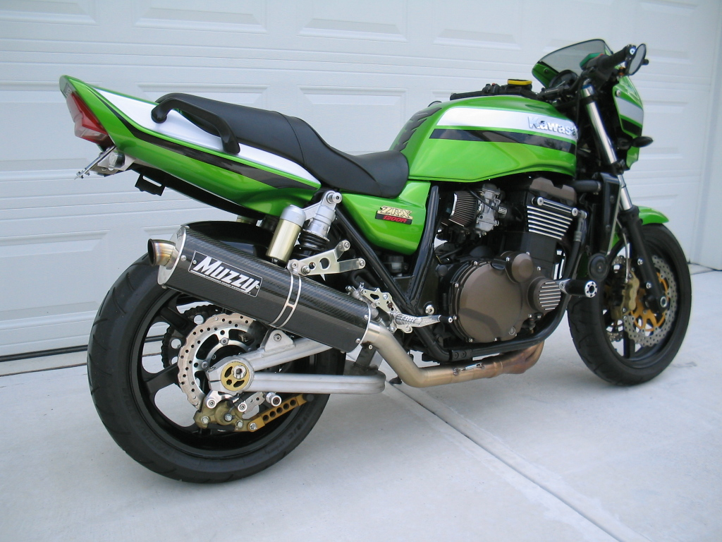 03 Kawasaki Zrx1200 Sportbikes Net