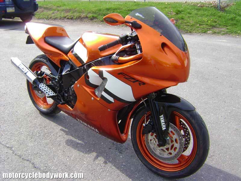 Fzr600 r1 conversion for Yamaha fzr fairings