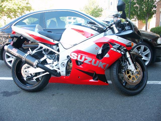 FS: 2002 GSXR 750 Red/Black/Silver - Sportbikes net