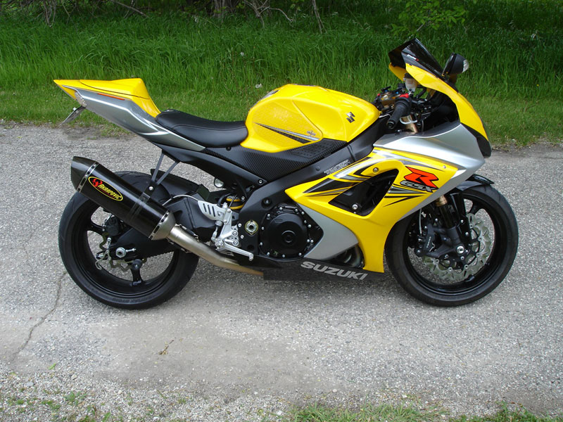 Suzuki Gsxr Black And Yellow