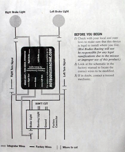 turn signal eliminator wiring diagram. Black Bedroom Furniture Sets. Home Design Ideas