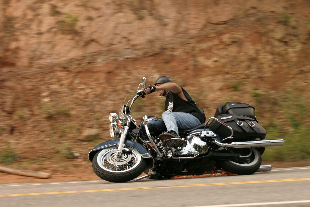A Harley Takes A Fall At Deals Gap Sportbikes Net