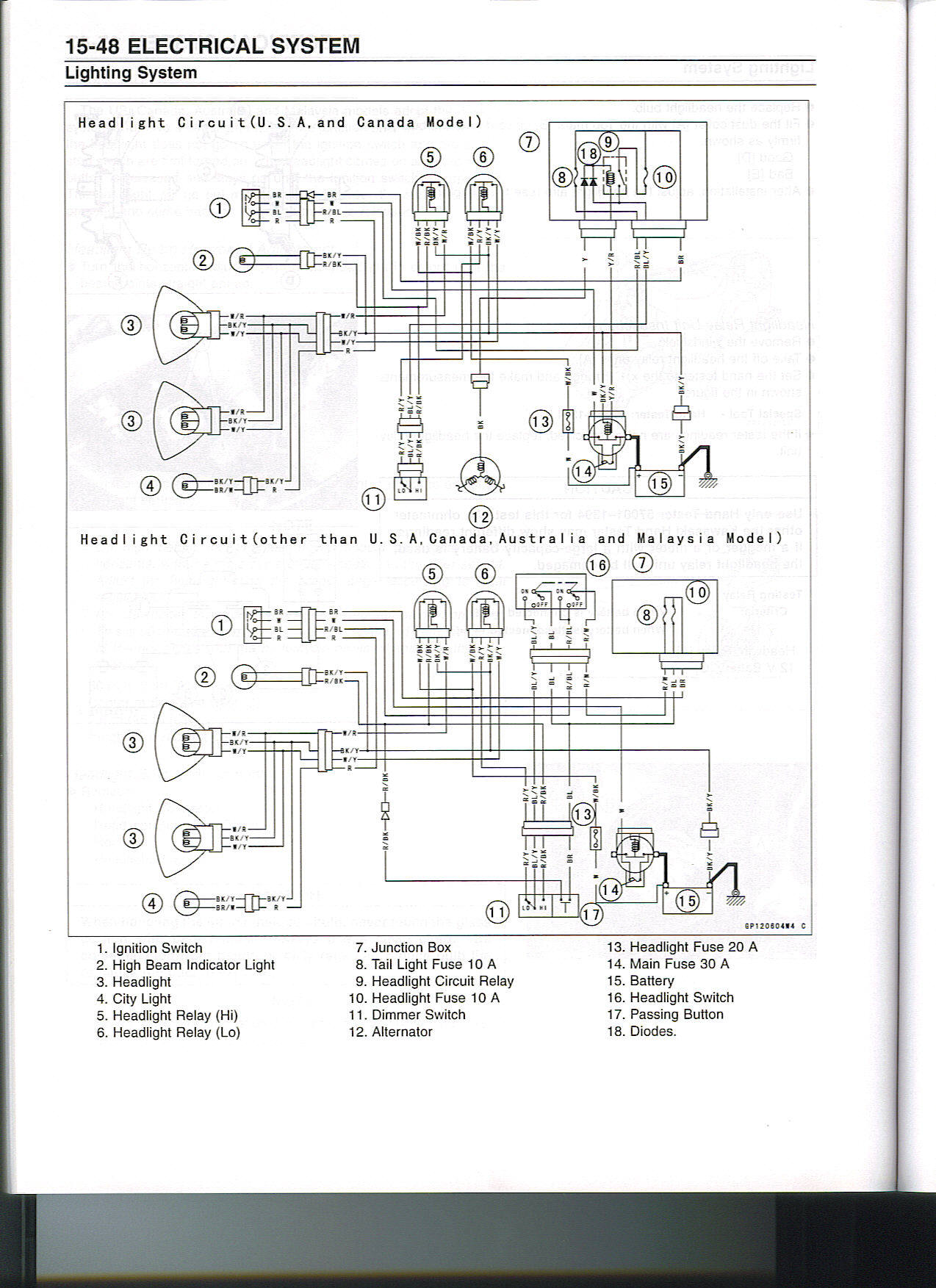 Honda Cbr Headlight Relays Wiring Diagram | Wiring Liry on