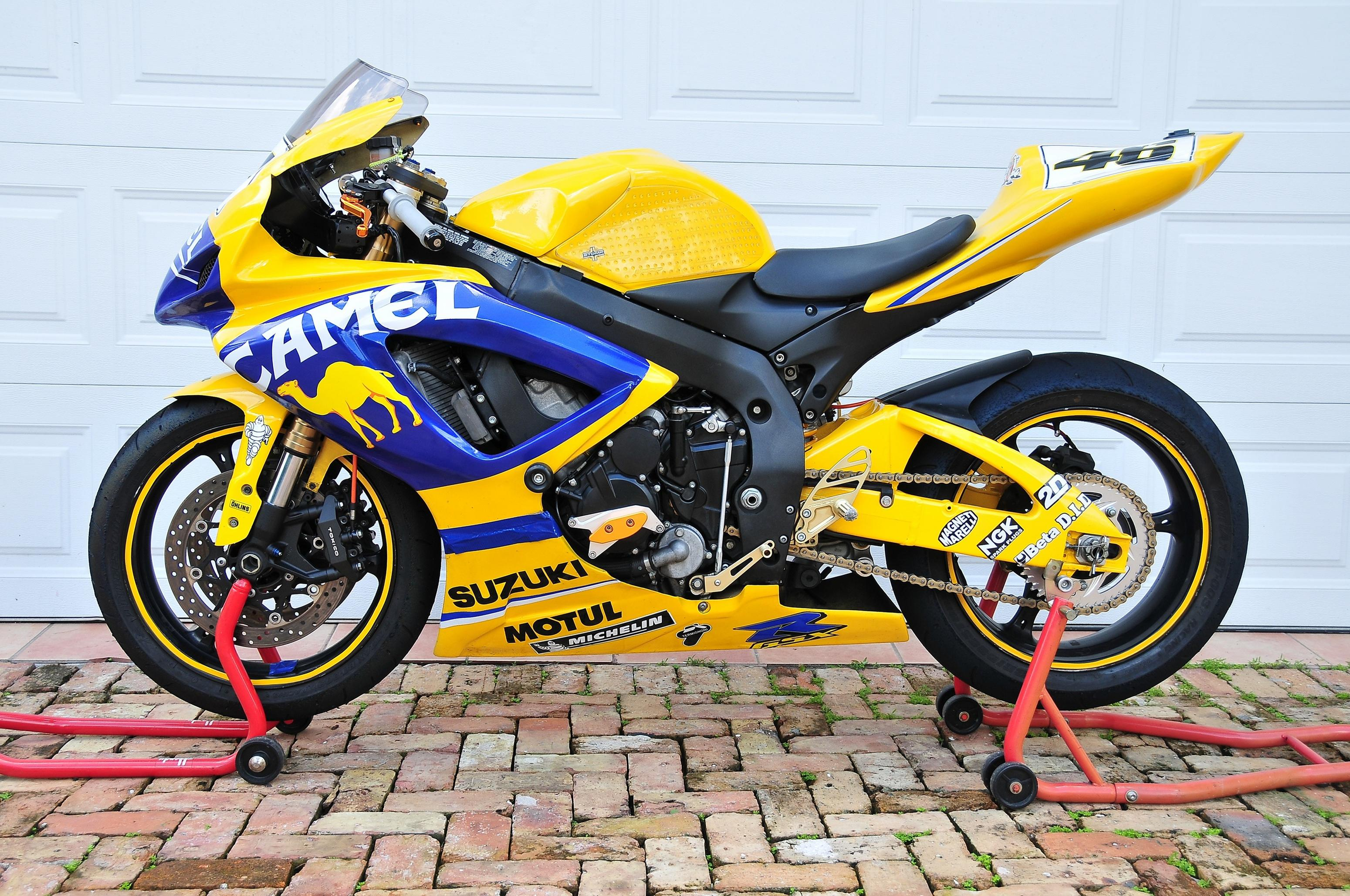2006 suzuki gsxr 600 track clean title 6700 doral fl. Black Bedroom Furniture Sets. Home Design Ideas