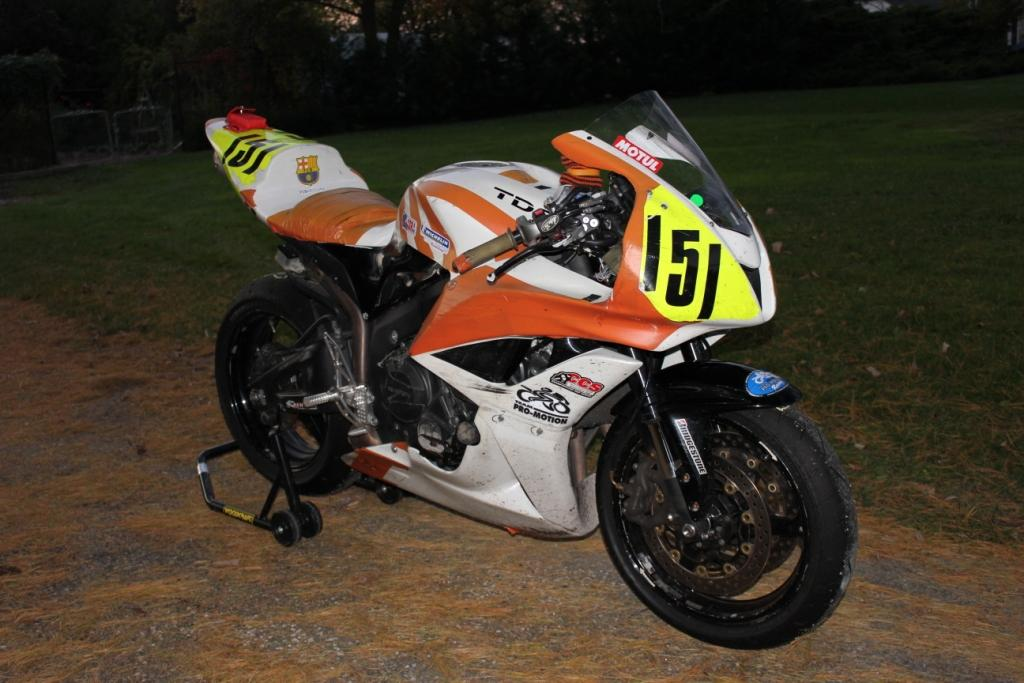 2007 Honda Cbr600rr Race Track Bike Sportbikes Net