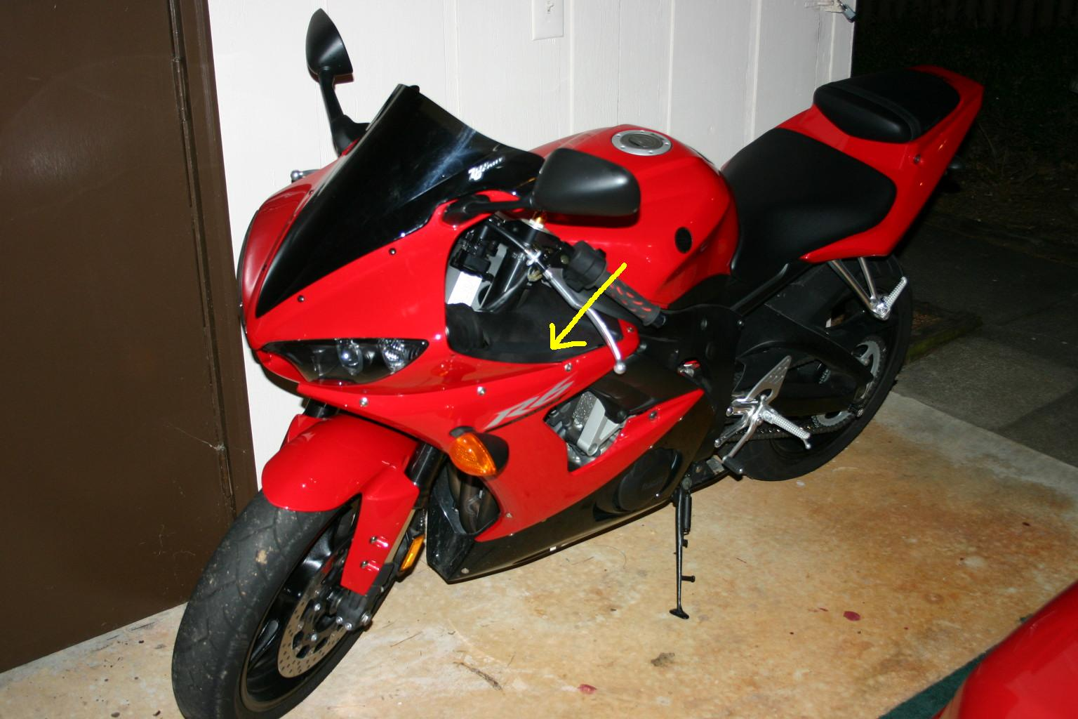 turn signal fuse location...help!!!!!!! - sportbikes.net yamaha r6 fuse box diagram