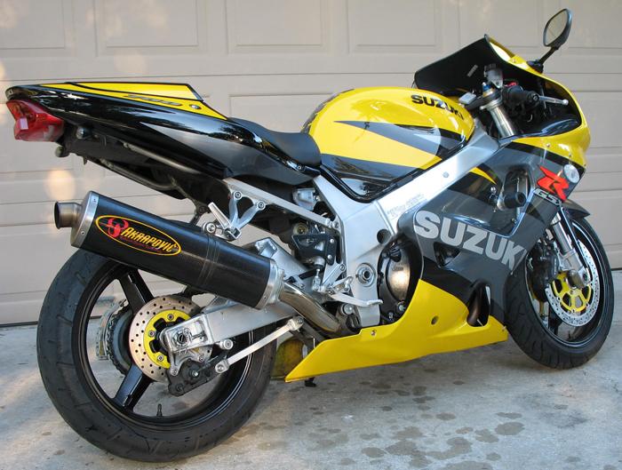 2003 Suzuki GSXR 750   Clean - Sportbikes net