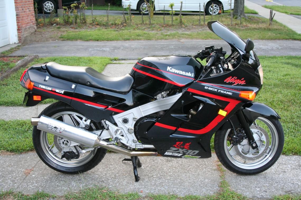 Mint 1989 Kawasaki ZX10 Ninja - Sportbikes.net