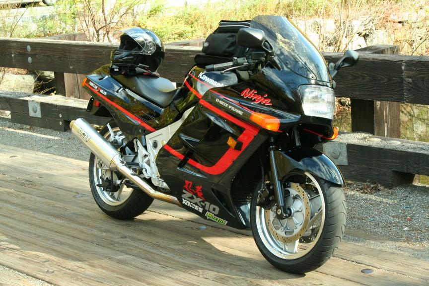 mint 1989 kawasaki zx10 ninja - sportbikes