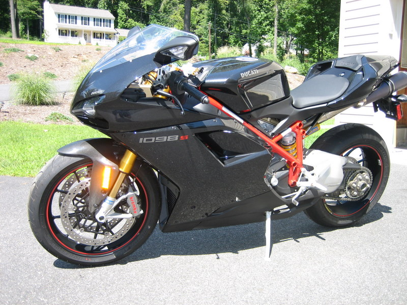 2007 black ducati 1098 s for sale - sportbikes
