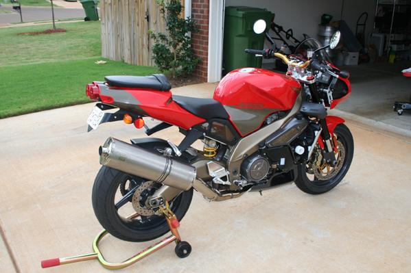 2003 Aprilia Tuono - Huntsville, AL - $7800 00 - Sportbikes net