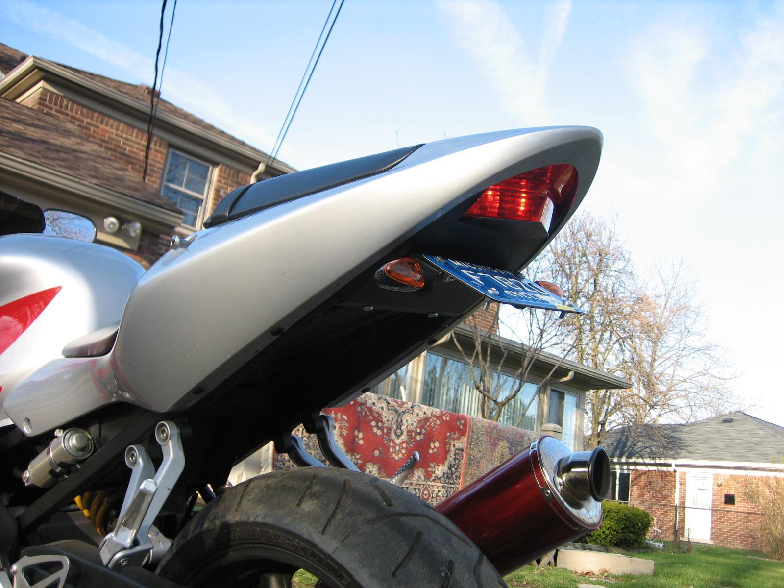 2003 Honda CBR F4i Rear Turn Signal Lights **HELP** (PICS ...