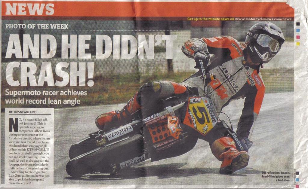World Record Lean Angle - Sportbikes.net